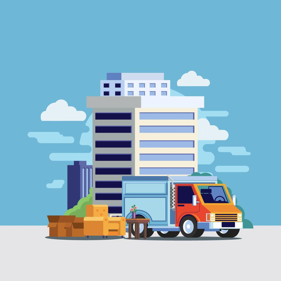 moving-truck-vector